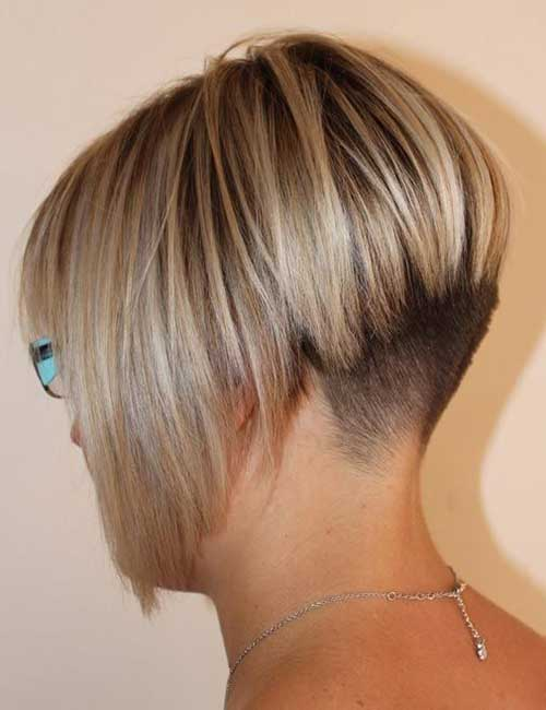 Tremendous 15 Shaved Bob Hairstyles Ideas Bob Hairstyles 2015 Short Hairstyle Inspiration Daily Dogsangcom