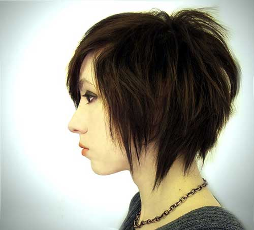 Emo Funky Bob Hairstyles