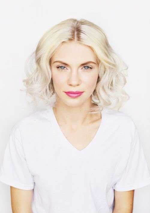 Faux Bob Platinum Color Ideas