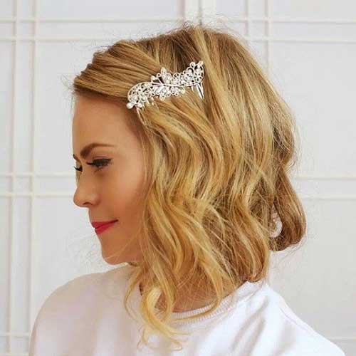 Blonde Faux Bob for Long Hair