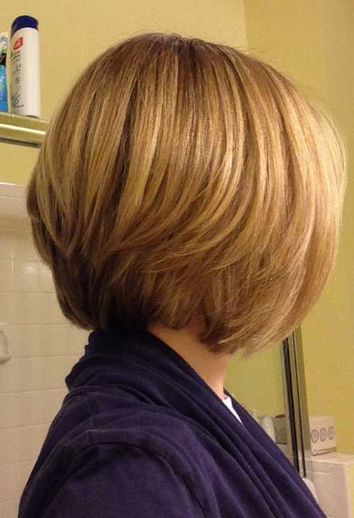 Pleasing 15 Layered Bob Back View Bob Hairstyles 2015 Short Hairstyles Short Hairstyles Gunalazisus