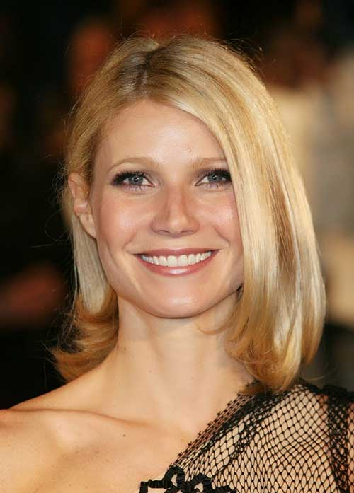 Gwyneth Paltrow Fine Bobs Hair