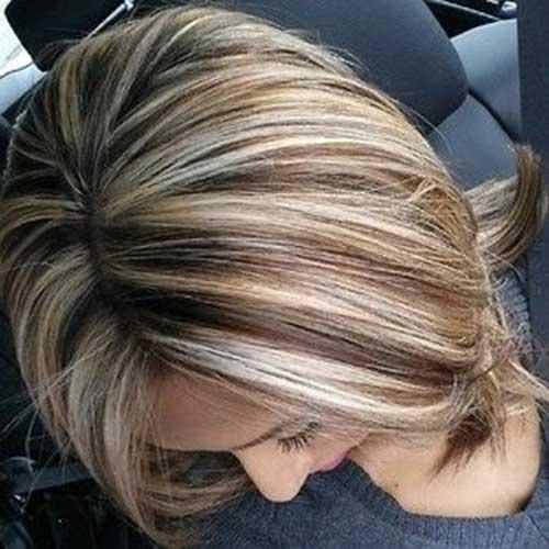 Strange 20 Highlighted Bob Hairstyles Bob Hairstyles 2015 Short Hairstyles For Women Draintrainus