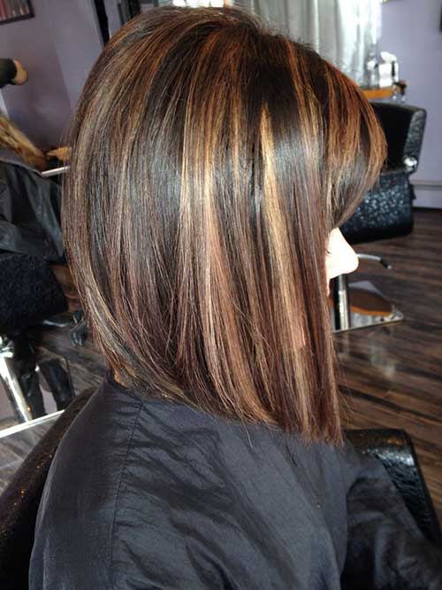 Best Highlights on Brown Bob