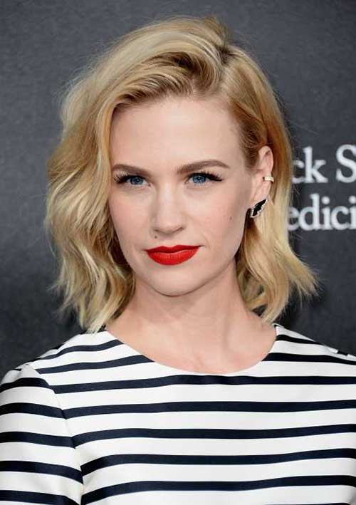 January Jones Bob Hairstyles