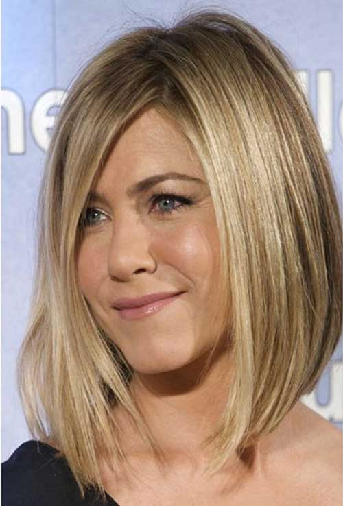 Terrific 20 Jennifer Aniston Long Bob Bob Hairstyles 2015 Short Hairstyles For Women Draintrainus