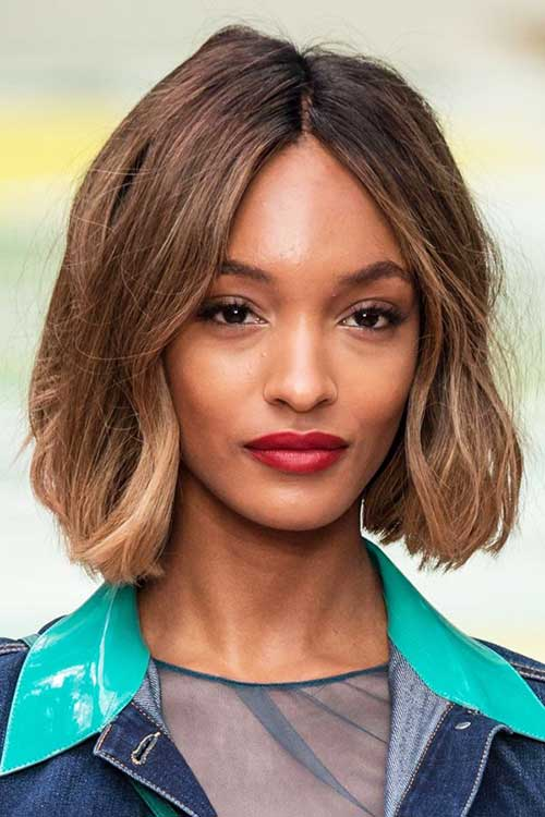 Jourdan Dunn Bob Hair