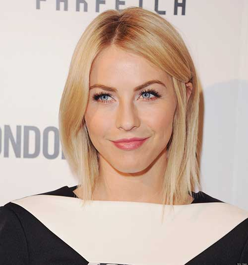 Julianne Hough Bob Haircut 2014-2015