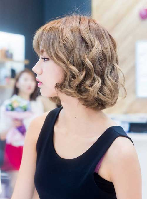 Best Korean Bob Hairstyle 2014