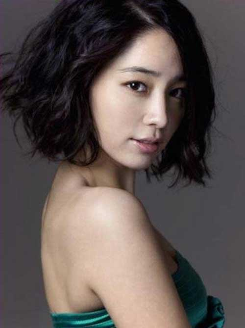 Lee Min-jung Bob Hair