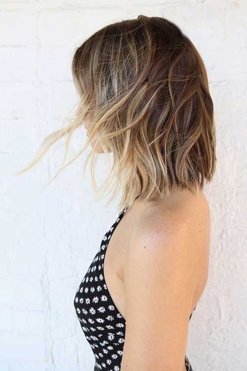 Long Bob Ombre Hairstyles