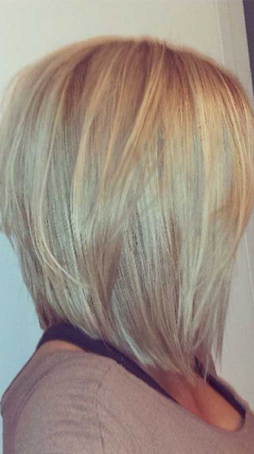 hairstyles layered bob - photo #40