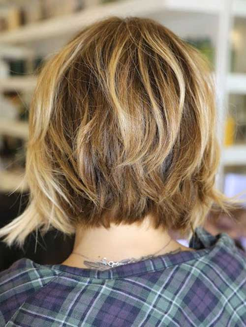Tremendous 15 Back View Of Inverted Bob Bob Hairstyles 2015 Short Hairstyle Inspiration Daily Dogsangcom