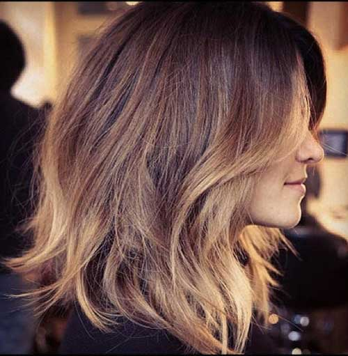 Midi Length Long Layered Bob Hairstyles