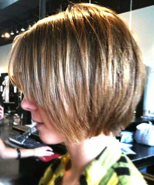 New Bob Haircut with Thin Layers 2015