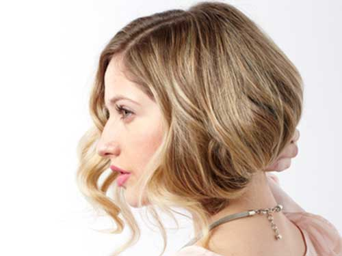 Nice Faux Blonde Bob Hairstyles