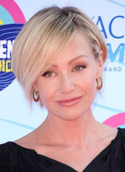 Portia de Rossi Short Hair with Side Bangs