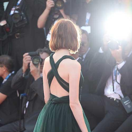 Emma Stone Short Cropped Bob