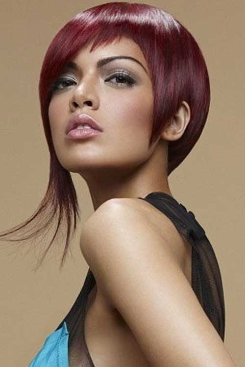 Short Funky Bob Hairstyles 2015
