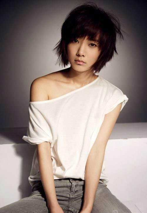 Short Hair Asian Chinese Bob