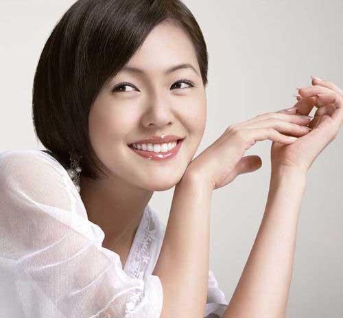 Short Hair Asian Chinese Bobs