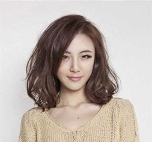 Short Hairstyles for Cute Asian Women