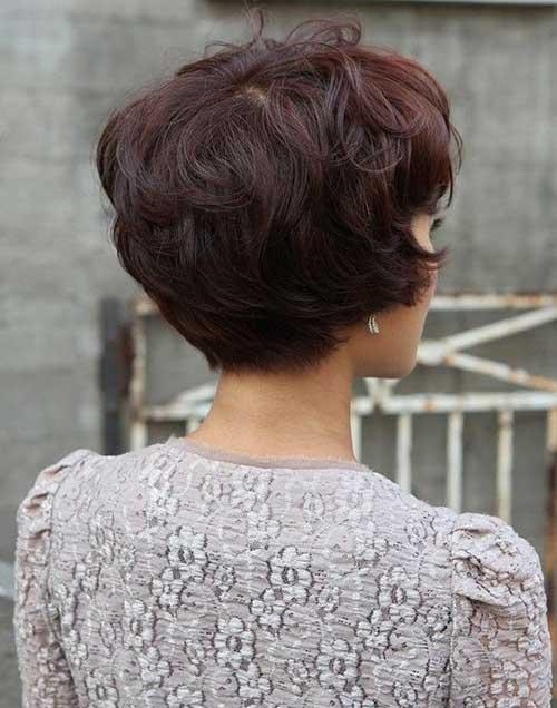 Astounding 15 Layered Bob Back View Bob Hairstyles 2015 Short Hairstyles Short Hairstyles Gunalazisus