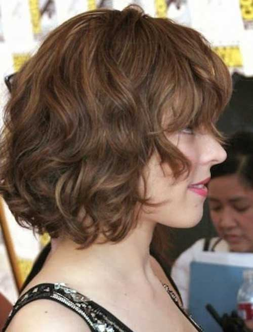 Best Short Wavy Thick Hair