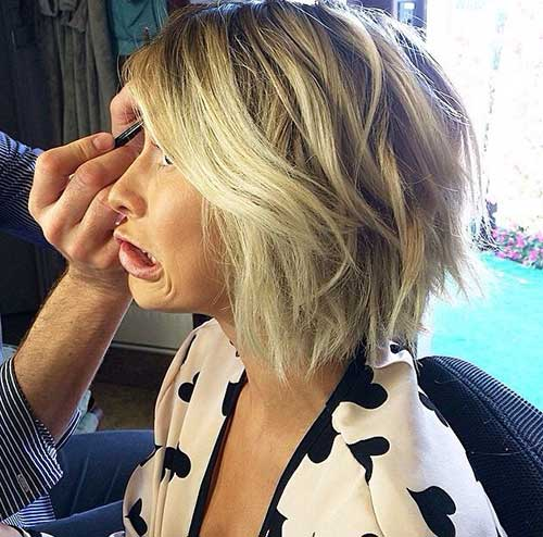 Wavy Bob with Choppy Cut for 2015