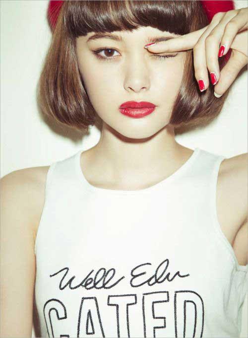 Girl Bob Hairstyles 2015-7