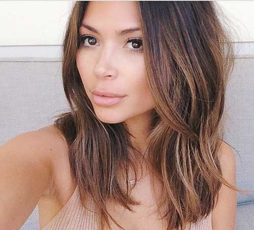 Pleasing 15 Best Long Bob Brown Hair Bob Hairstyles 2015 Short Hairstyle Inspiration Daily Dogsangcom