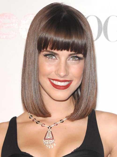 Awe Inspiring 20 Best Brunette Bob Haircuts Bob Hairstyles 2015 Short Short Hairstyles Gunalazisus