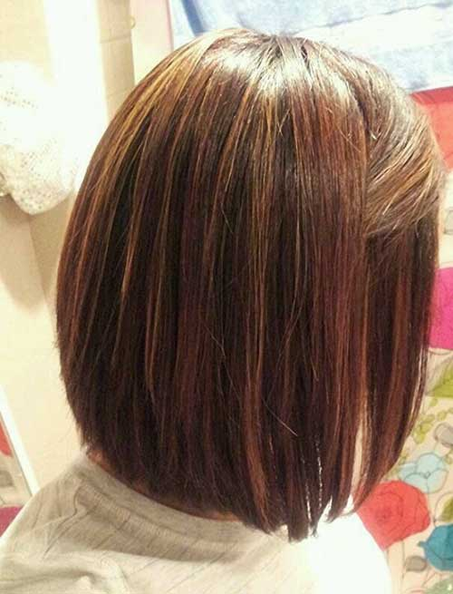 Best Brunette Long Bob Style
