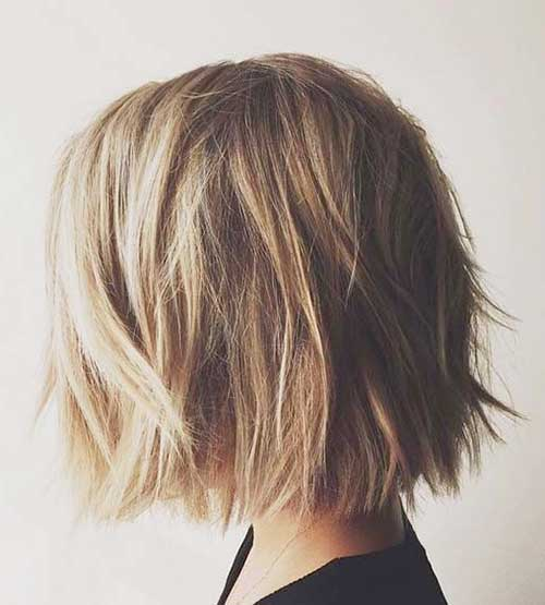 Casual Short Choppy Bob