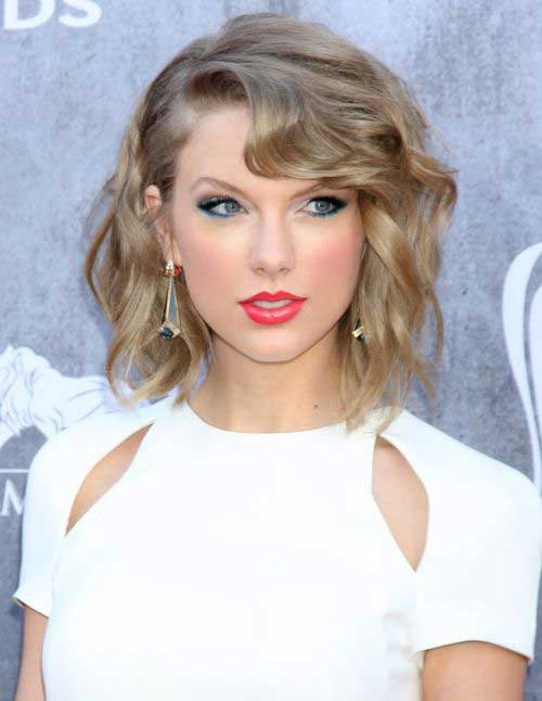 Taylor Swift Celebrity Bob Hairstyles