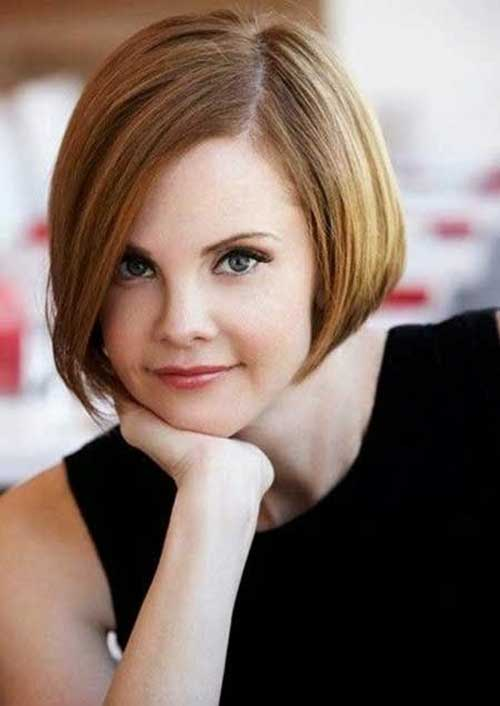 Cute Short Thin Bob