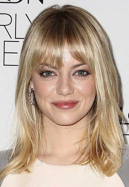 Awesome 25 Long Bob With Bangs Bob Hairstyles 2015 Short Hairstyles Short Hairstyles For Black Women Fulllsitofus