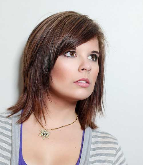 Highlights for Dark Brown Bobbed Hair