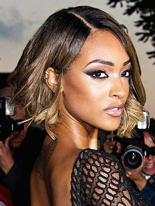 Jourdan Dunn Bob Hairstyles