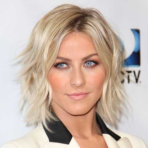 Julianne Hough Shaggy Bob Hairstyles