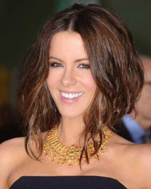 Kate Beckinsale Faux Bob Hairstyles