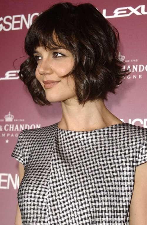 Katie Holmes Bob Cut Hairstyles