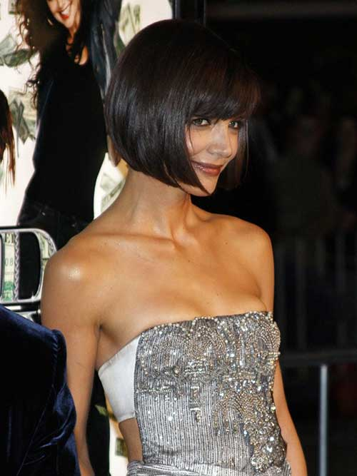 Katie Holmes French Bob Hair