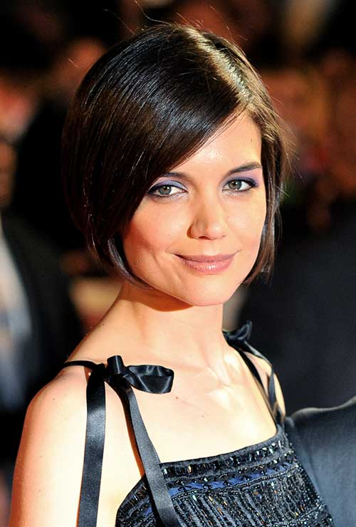 Katie Holmes Straight Bob Hairstyles