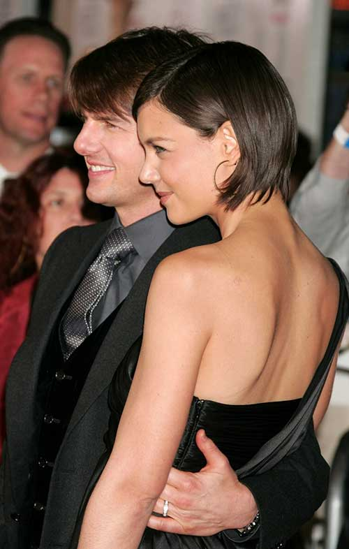 Katie Holmes Very Short Bob Hair