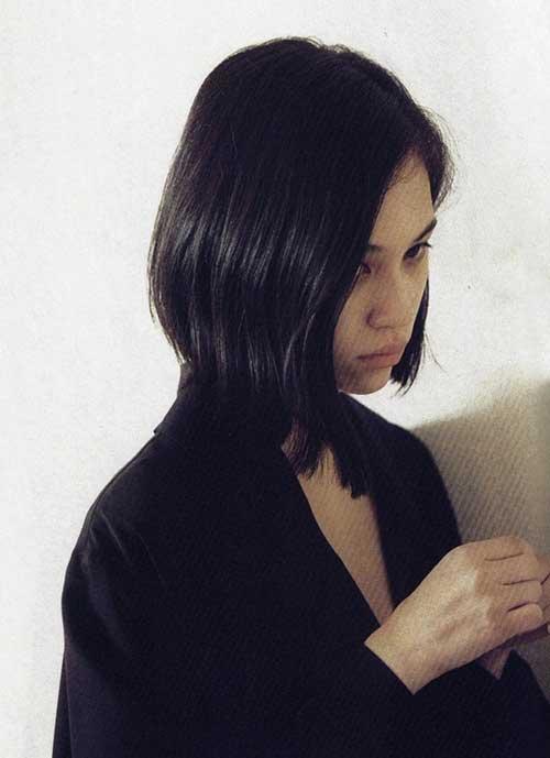 Kiko Mizuhara Bob Hairstyles