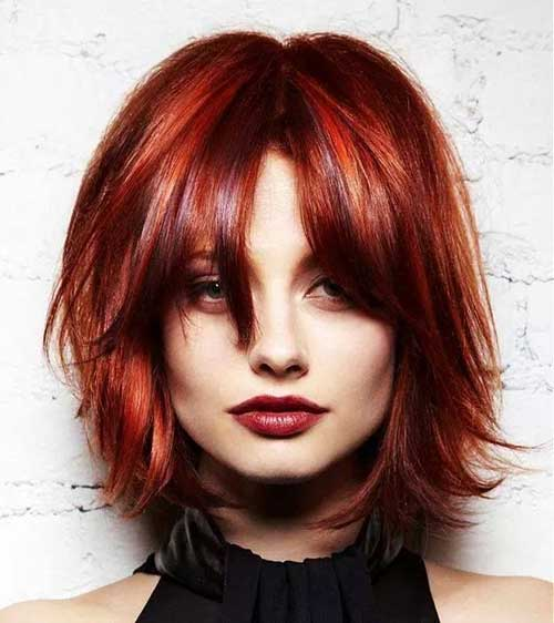 Pleasant 20 Red Bobs Hairstyles Bob Hairstyles 2015 Short Hairstyles Short Hairstyles Gunalazisus