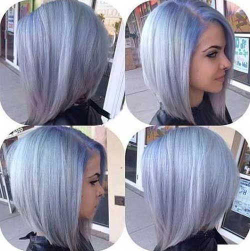 Lavender Bobbed Hairstyles