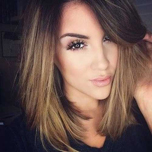 20 long bob dark hair bob hairstyles 2018 short hairstyles for women. Black Bedroom Furniture Sets. Home Design Ideas