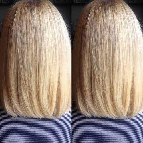 Wondrous 15 Long Bob Haircuts Back View Bob Hairstyles 2015 Short Hairstyles For Women Draintrainus